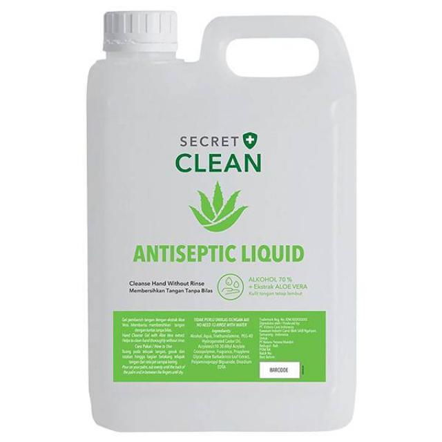 Secret Clean Hand Sanitizer Liquid   SECRET CLEAN0
