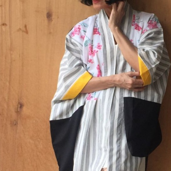 Atta Yukata Dress 061