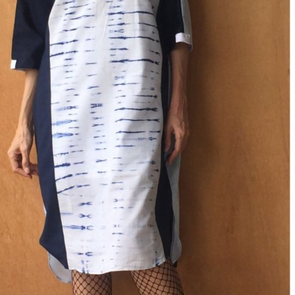 Atta Shibori Dress 071