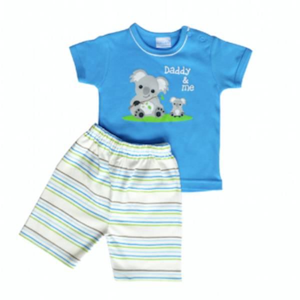 Baju Bayi Setelan Motif Daddy & Me Koala2