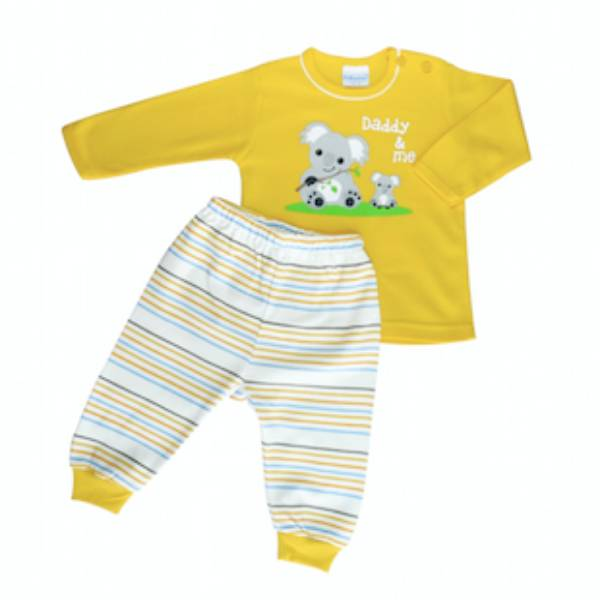Baju Bayi Setelan Motif Daddy & Me Koala