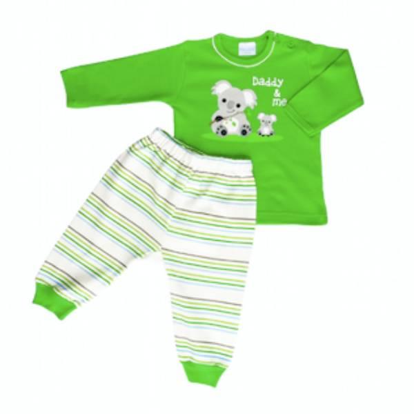 Baju Bayi Setelan Motif Daddy & Me Koala1
