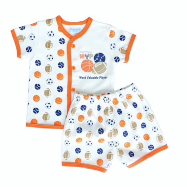 Baju Bayi Setelan Motif Mommy's Most Valuable Player0