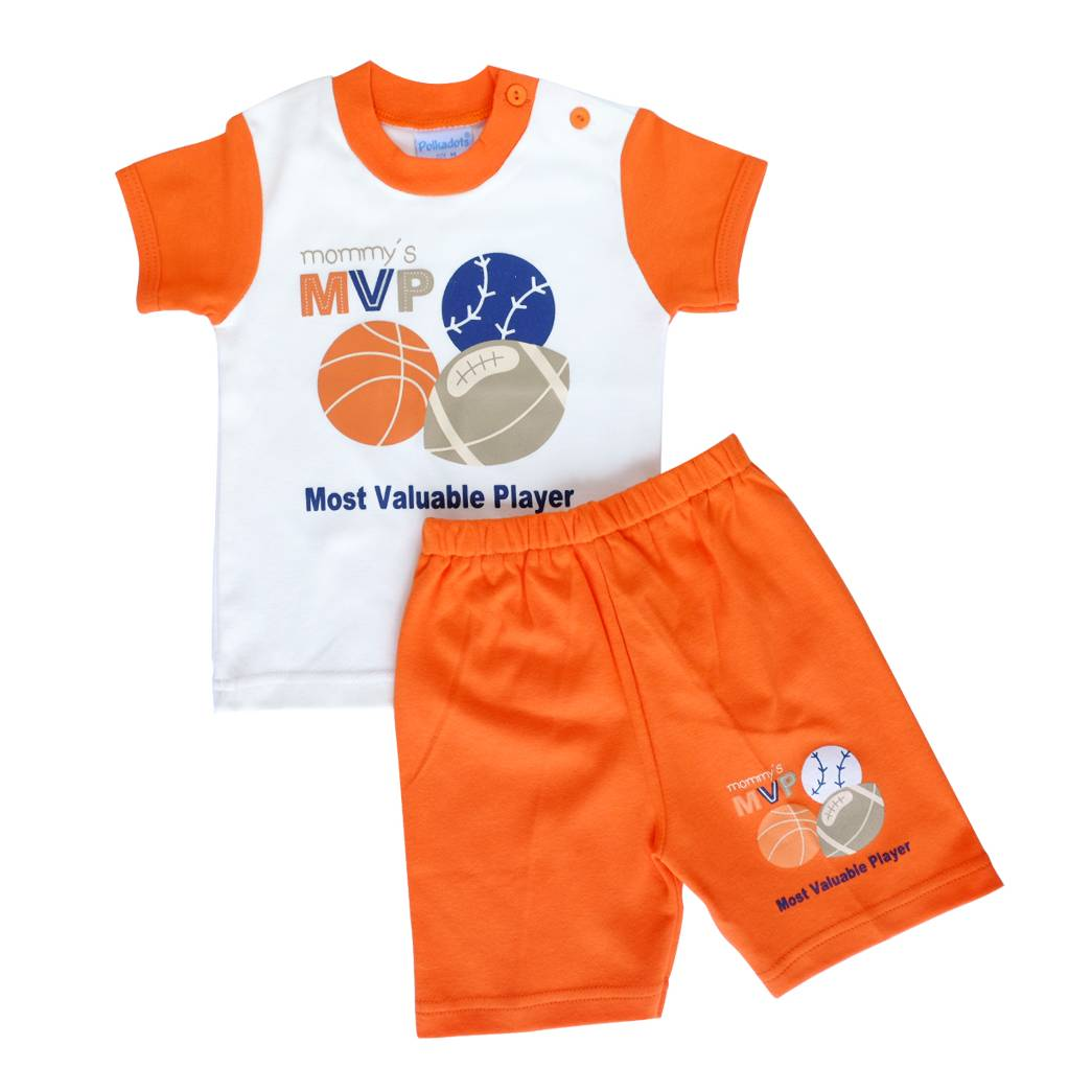 Baju Bayi Setelan Motif Mommy's Most Valuable Player2
