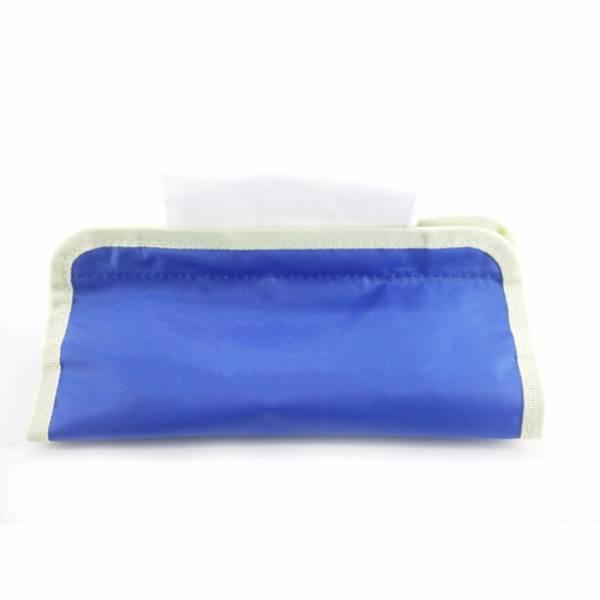 Medium Tissue Organizer Blue