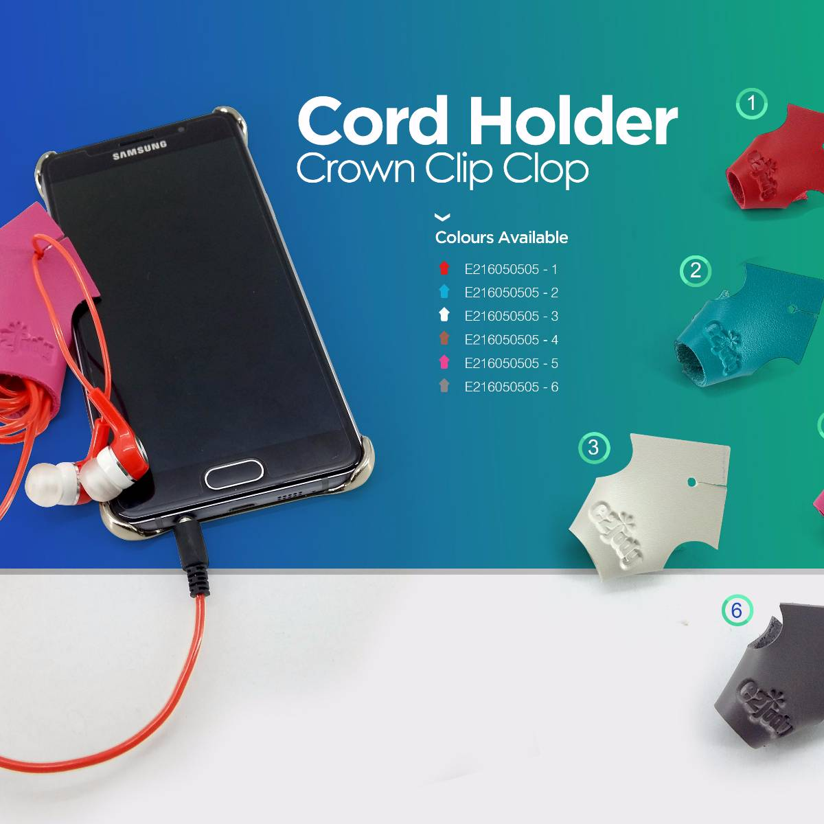 Cord Holder Crown