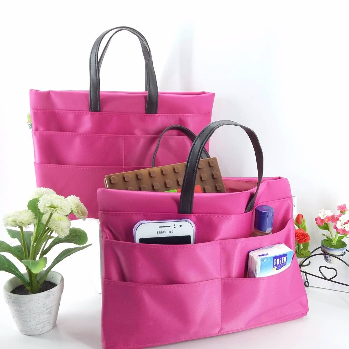 Bag In Bag Organizer Bahan Longcham4
