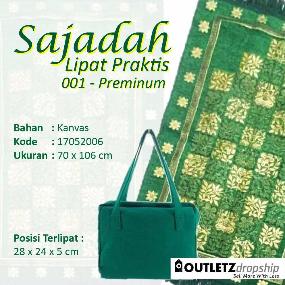 Sajadah Lipat Praktis 001 - Premium