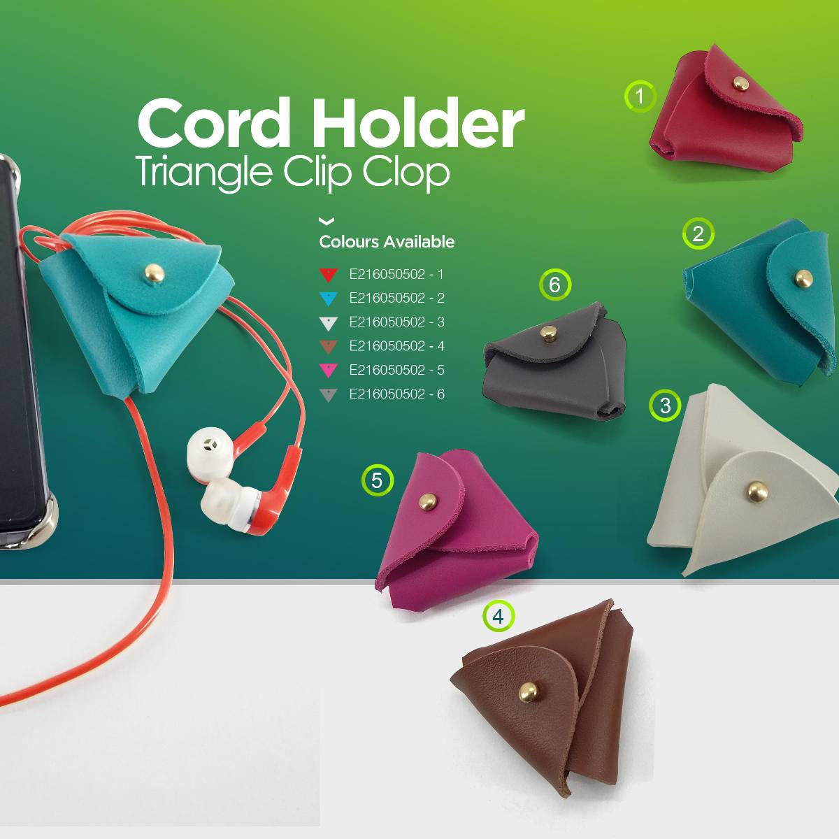Cord Holder Triangle