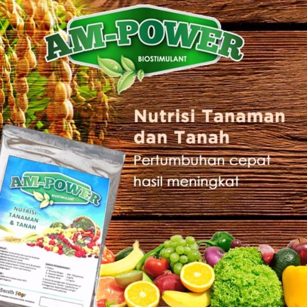 Am-power Bio Stimulant (Nutrisi Tanaman & Tanah) - Grosir