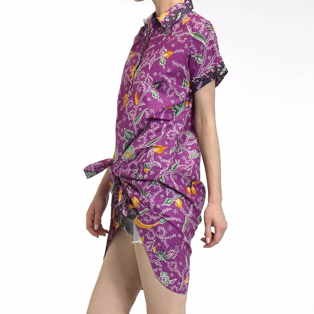 Beyounique Batik Hi-low Bottom Shirtdress2