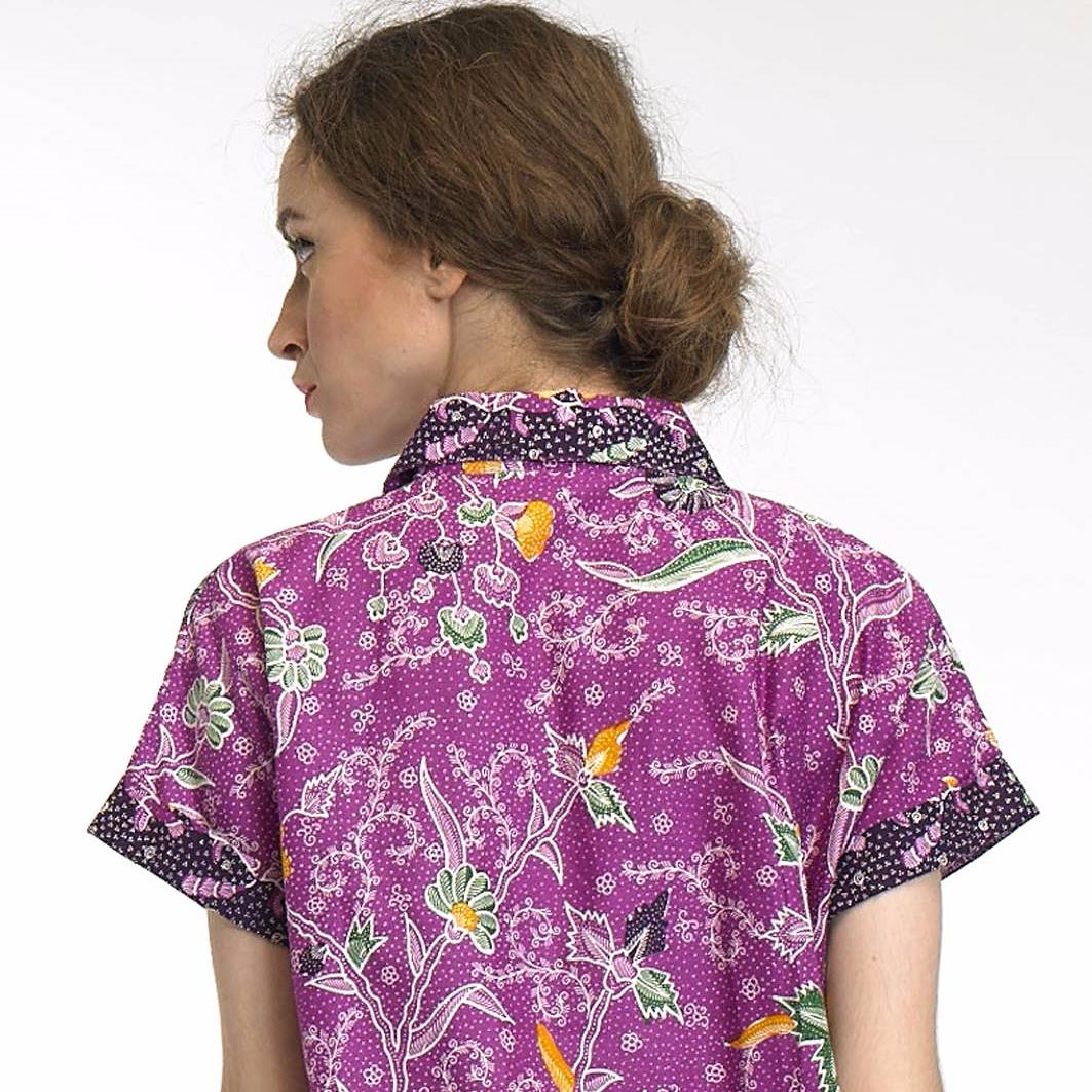 Beyounique Batik Hi-low Bottom Shirtdress4