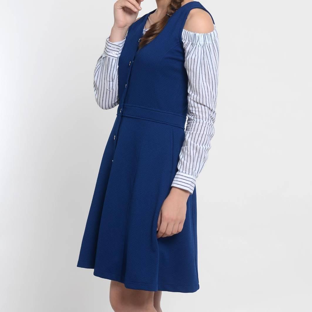 Beyounique Pinafore Dress(grosir Paket 6)3