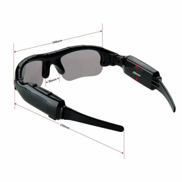 Kacamata Kamera Rekam / Spy Cam / Foto & Video2