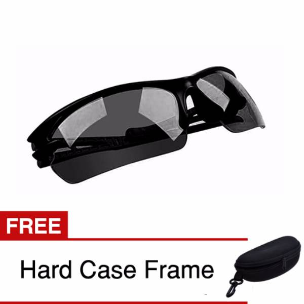 Kacamata Night Driving Glasses Grade Aa - Free Hard Case1