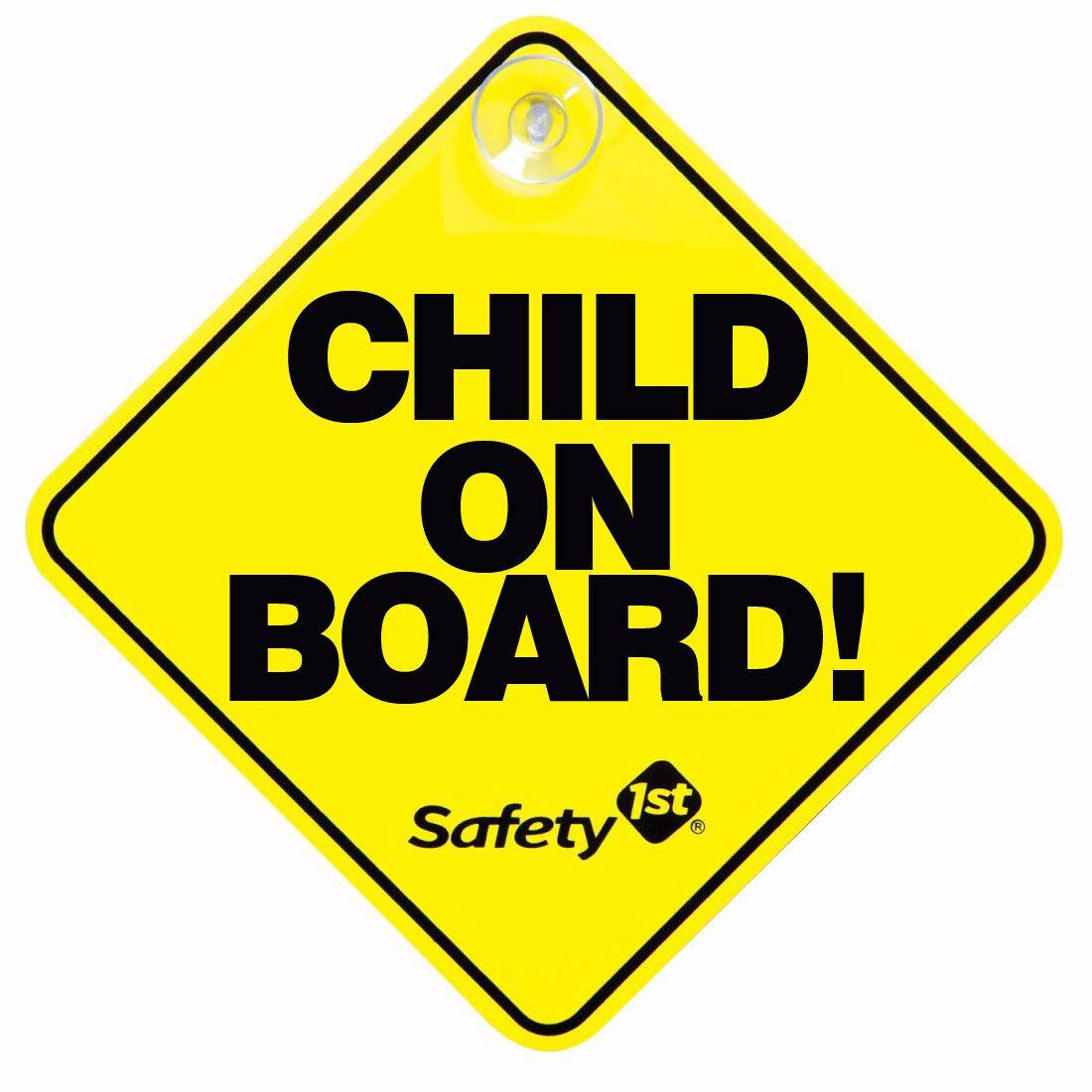 Car Sign Child On Board