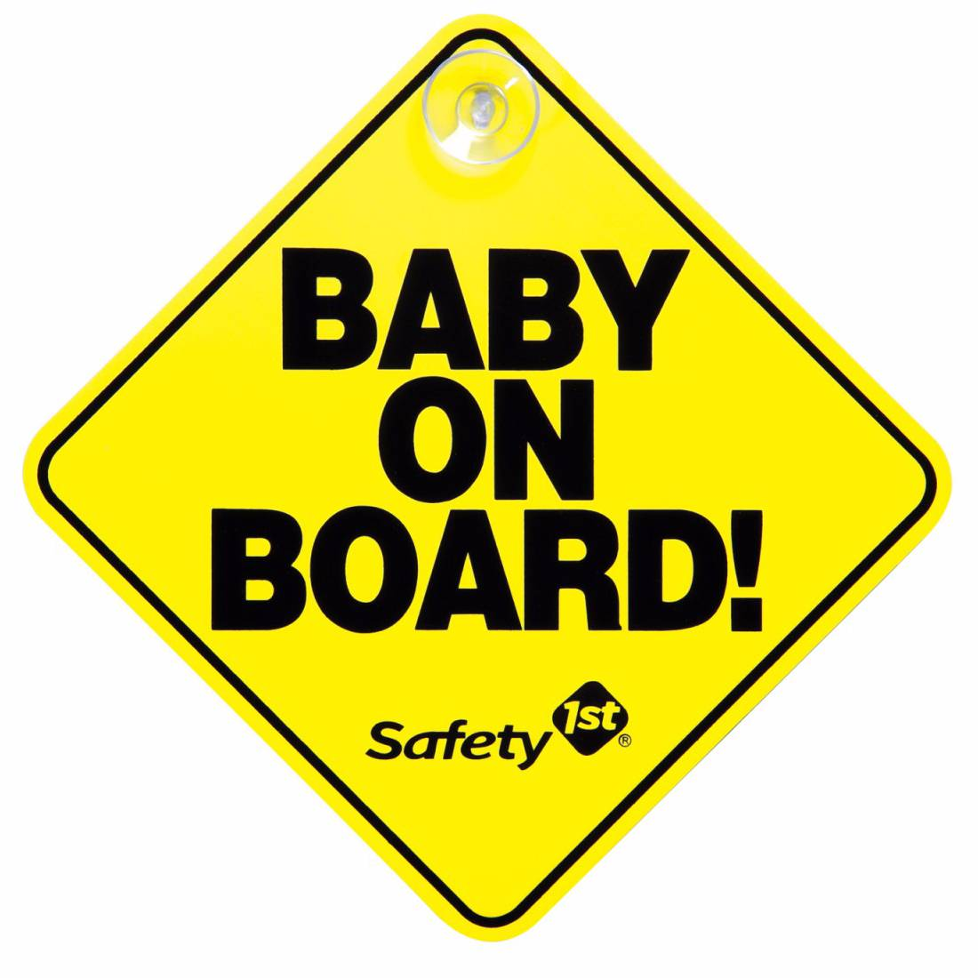 Car Sign Baby On Board