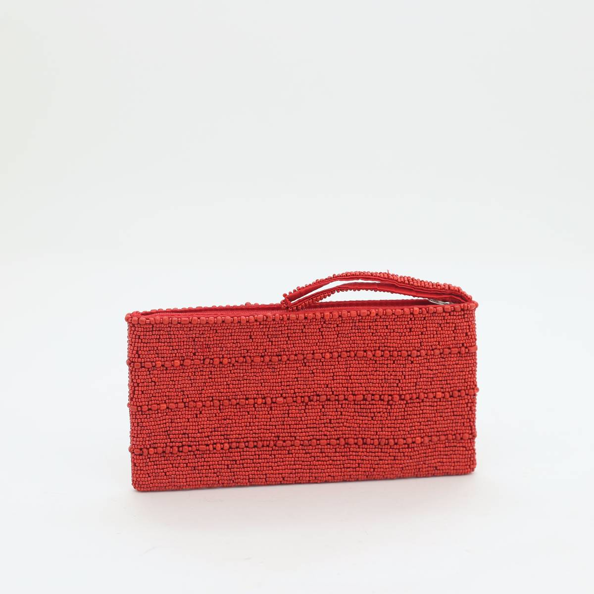 Lines Beads Purse