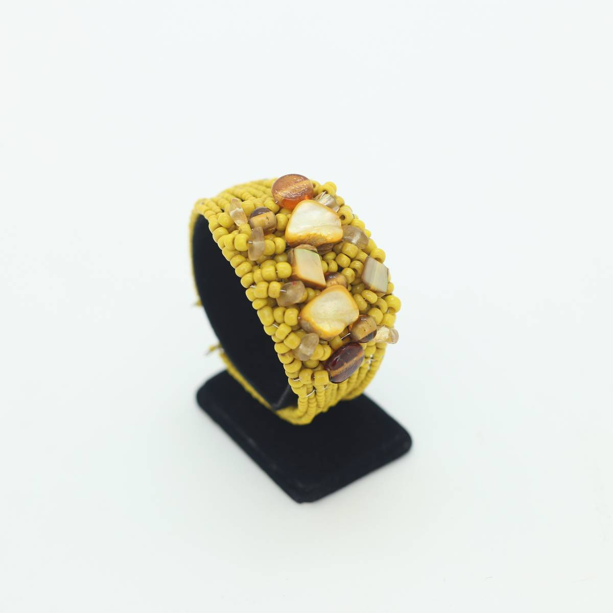 Wine Stone Pablo Style Bangle2