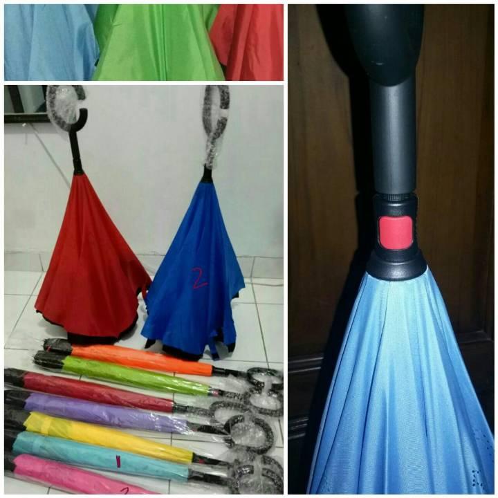 Payung Terbalik Polos (hn) - Kualitas Premium1