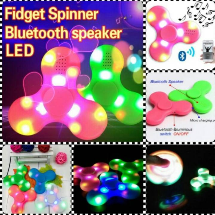 Spinner Led Dan Speaker (via Bluetooth) - New Spinner !!!1