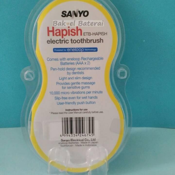 Sikat Gigi Electric Sanyo Untuk Anak-anak2