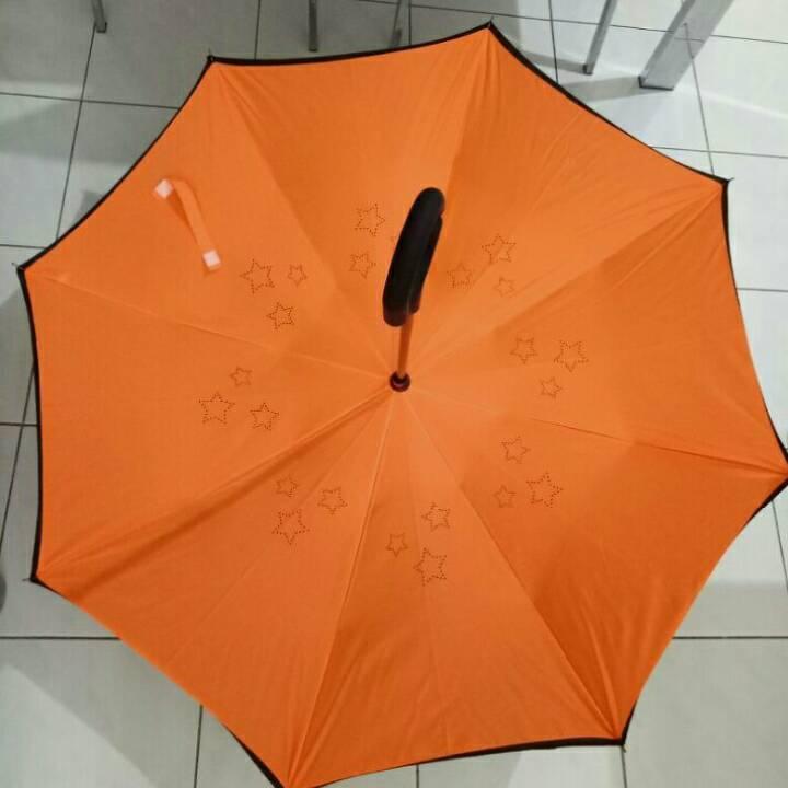 Payung Terbalik Polos (hn) - Kualitas Premium2