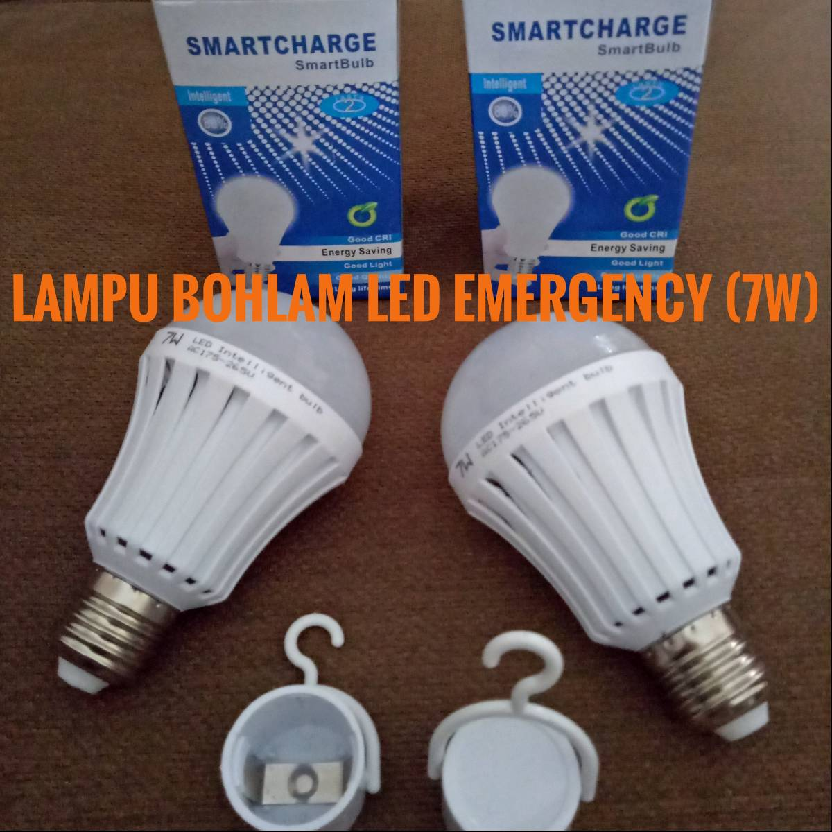Lampu Bohlam Led Smartcharge (7w) - Lampu Emergency