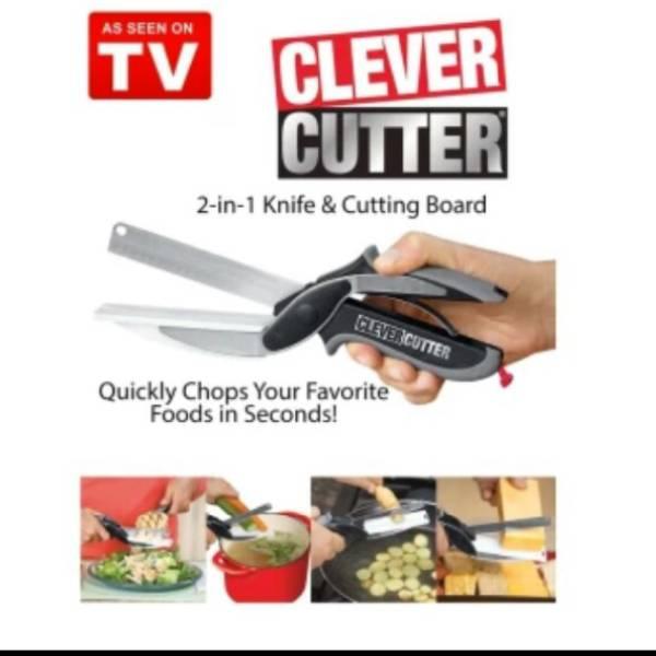 Gunting Dapur Serbaguna (clever Cutter)