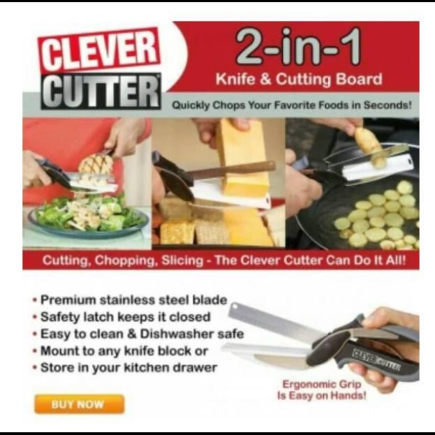 Gunting Dapur Serbaguna (clever Cutter)2
