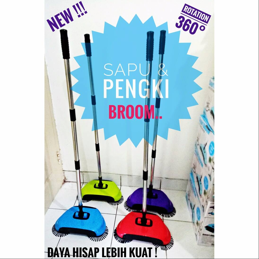Sapu Dan Pengki (smart Broom)