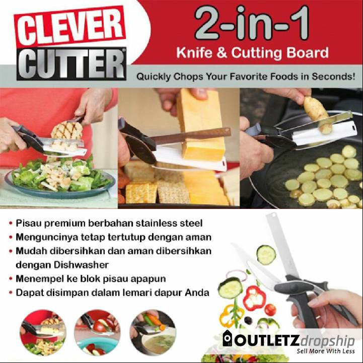 Gunting Dapur Serbaguna (clever Cutter)