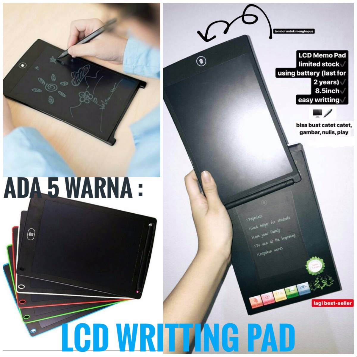 Lcd Writting Pad