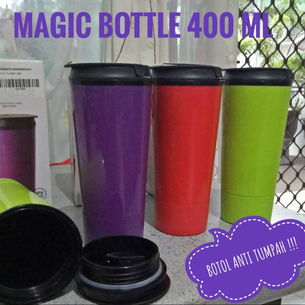 Magic Bottle / Mighty Mug - 400 Ml (korea)