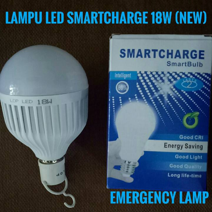 Lampu Bohlam Led Smartcharge18w ( New ) - Emergency Lamp