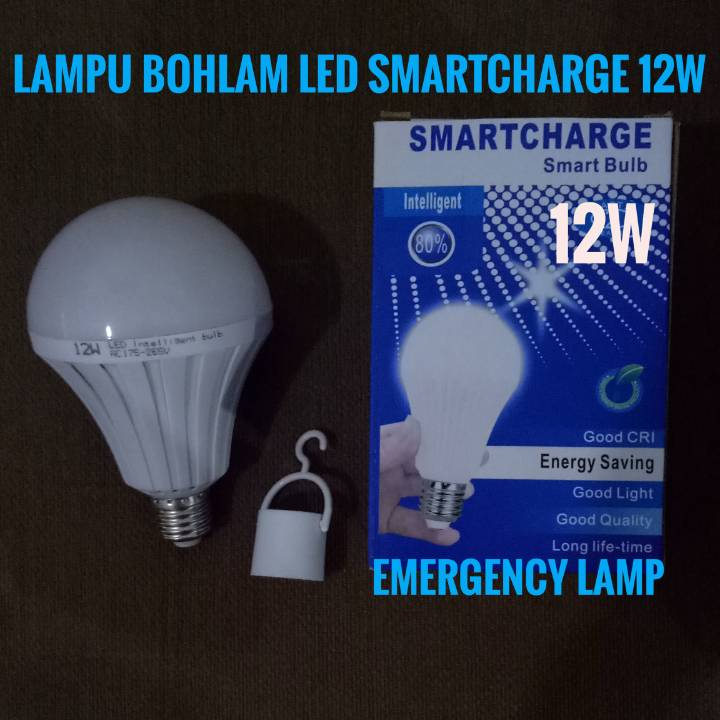 Lampu Bohlam Led Smartcharge 12w - Emergency Lamp