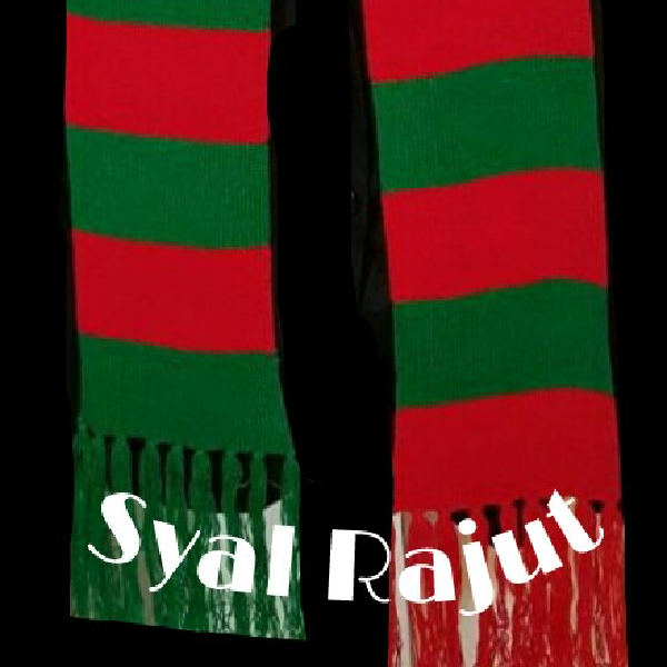 Syal Rajutan ( Natal)