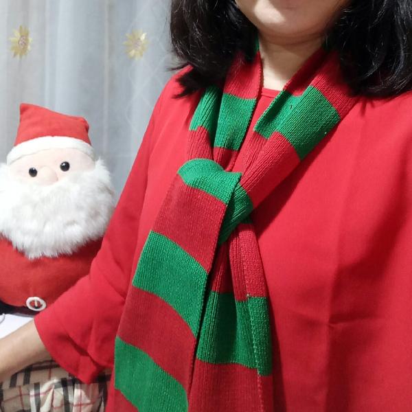 Syal Rajutan ( Natal)2