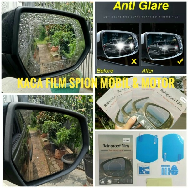 Kaca Film Spion Mobil / Motor (110 X 85ml)