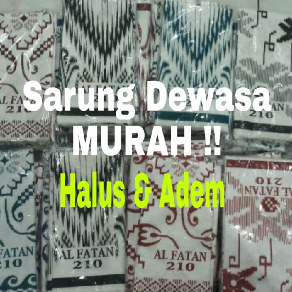 Sarung Dewasa (Bahan Adem & Nyaman)