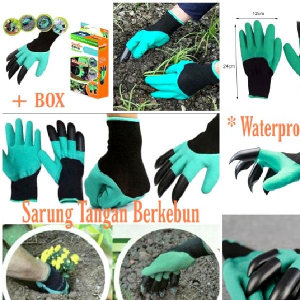 Sarung Tangan Berkebun ( sepasang + Box) - SALE  !!!