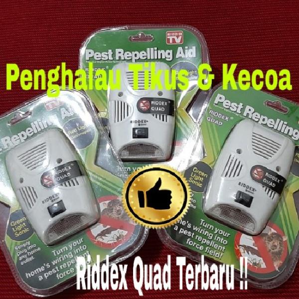 Riddex Quad terbaru, alat penghalau tikus dan kecoa