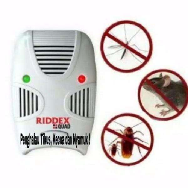Riddex Quad Terbaru, Penghalau Tikus dan Kecoa (Grosir : 3 pcs)2