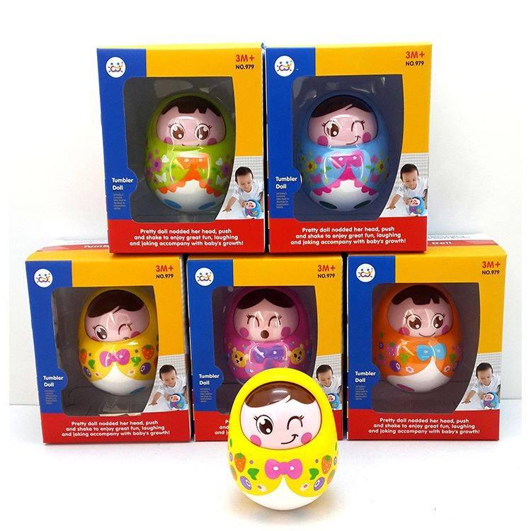 Mainan Balita - Tumbler Doll1