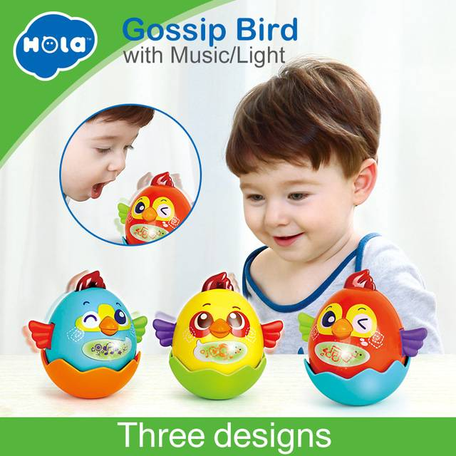 Mainan Balita - Gossip Bird