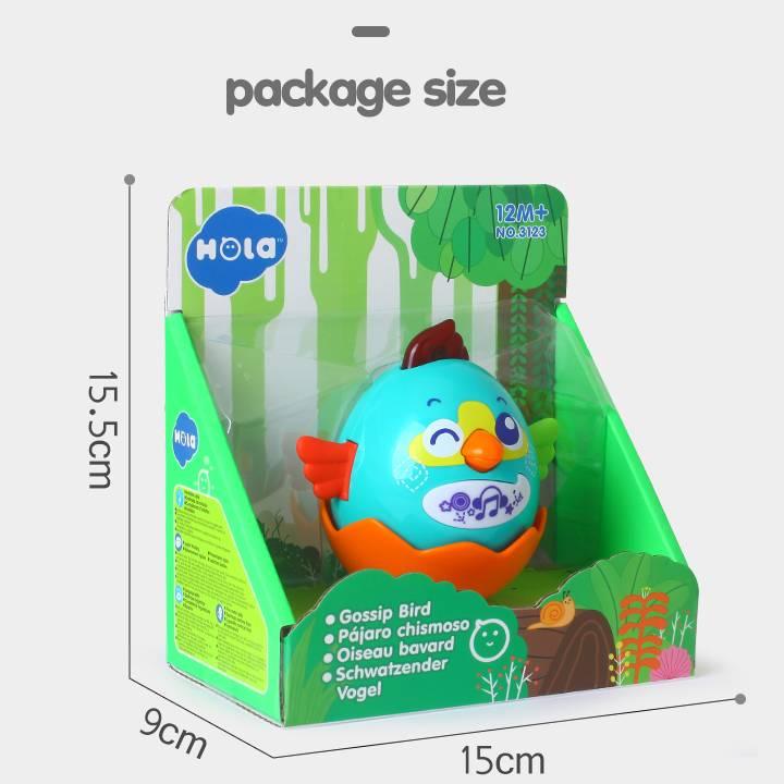 Mainan Balita - Gossip Bird1