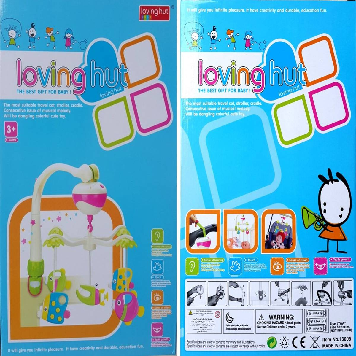 Mainan Bayi - Baby Music Hanging Loving Hut1