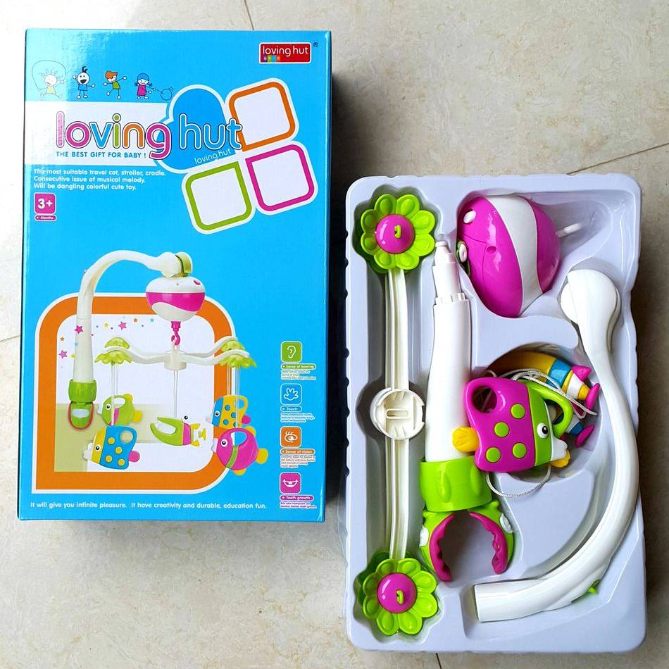 Mainan Bayi - Baby Music Hanging Loving Hut2