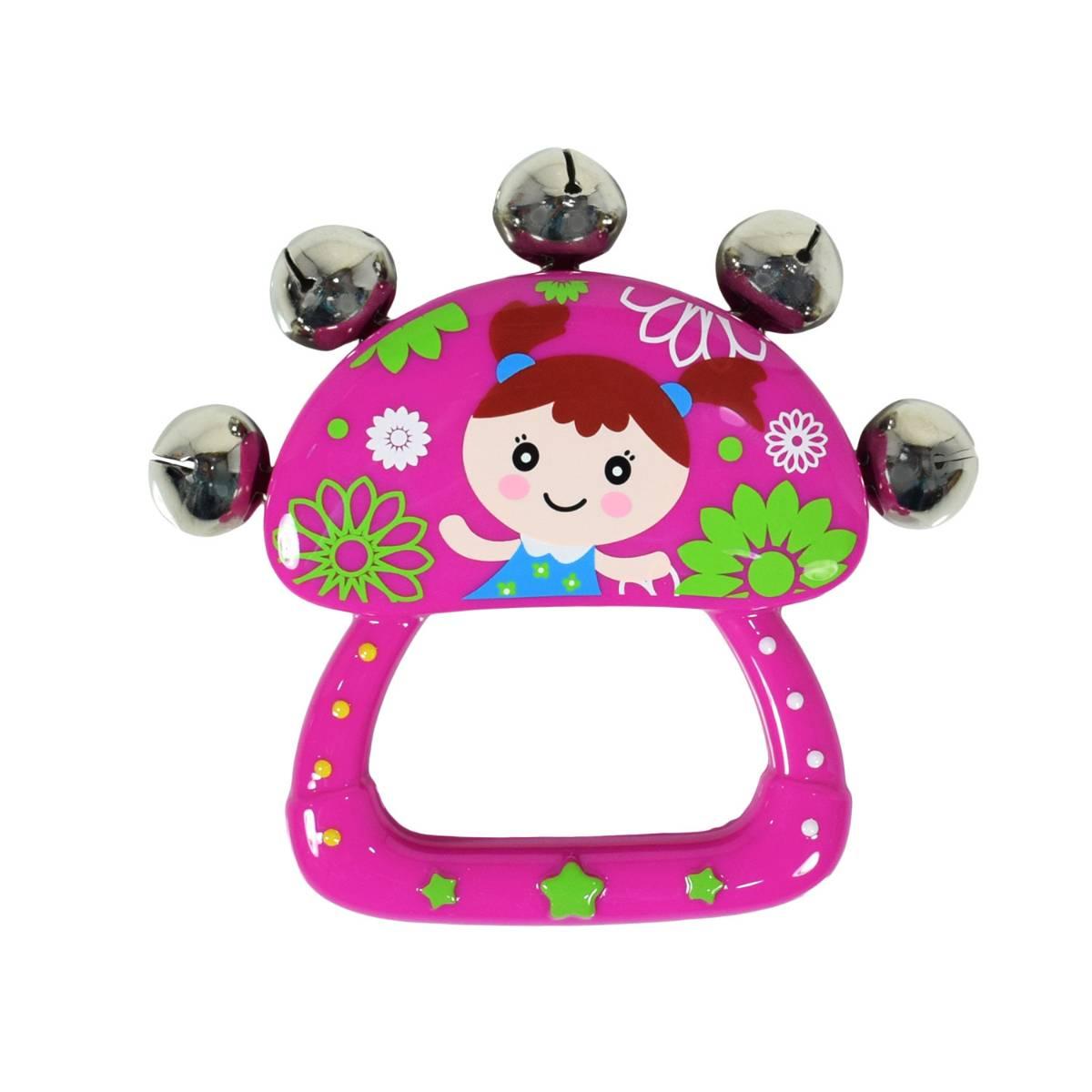 Mainan Bayi - Rattle Bell / Kerincingan Tangan1