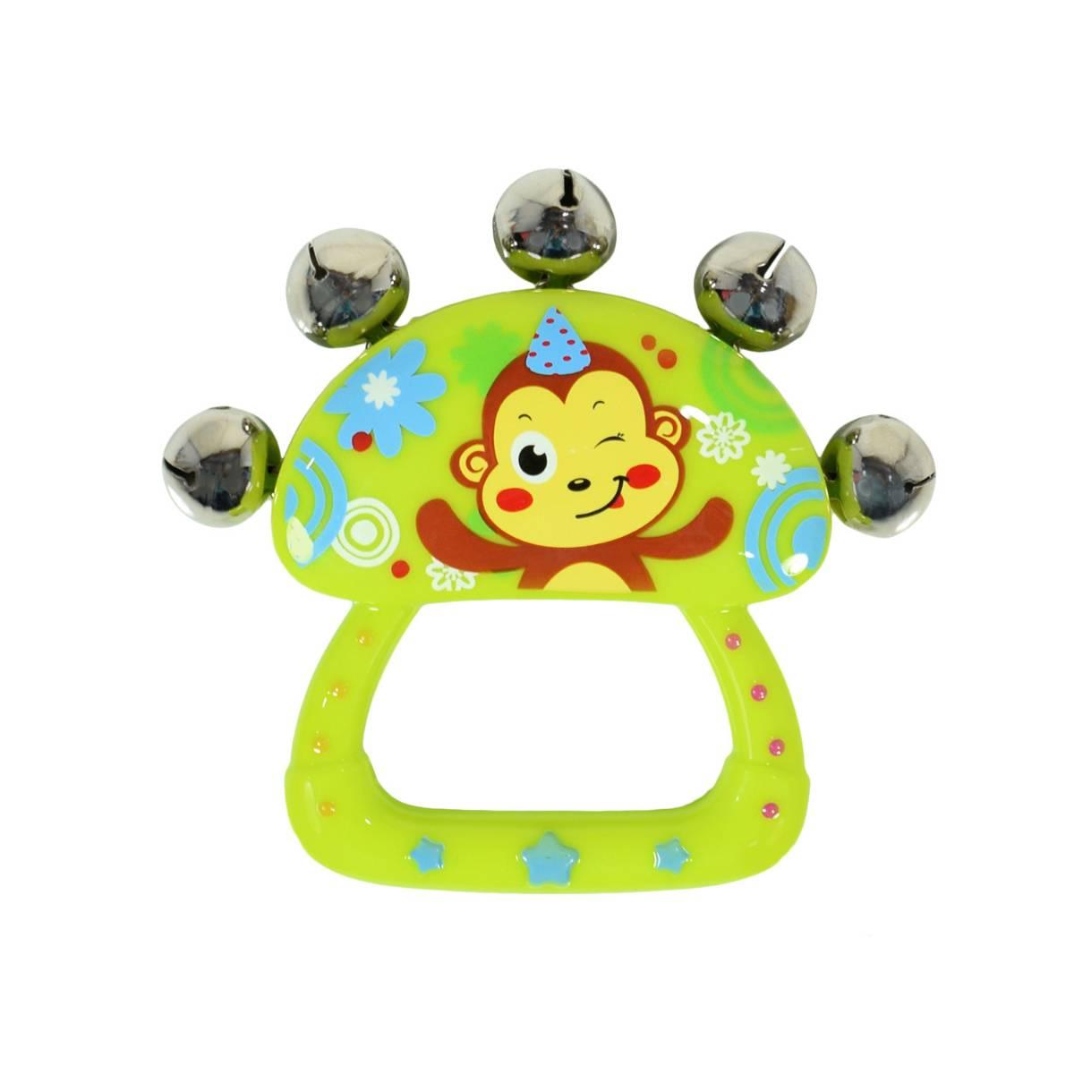Mainan Bayi - Rattle Bell / Kerincingan Tangan3
